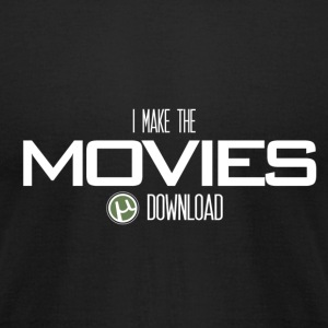 Movie Downloader - Men's T-Shirt by American Apparel