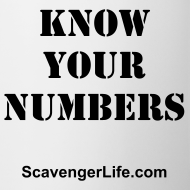 Design ~ Know Your Numbers Mug