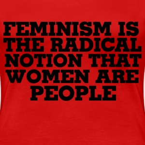 Feminism defined - Women's Premium T-Shirt