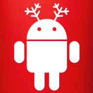 Design ~ merry christmas santa claus hat android