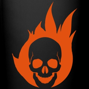 Flaming Skull Accessories - Full Color Mug