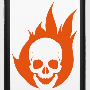 Flaming Skull Accessories - iPhone 6/6s Rubber Case