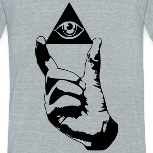 Swag Eye T-Shirts - Unisex Tri-Blend T-Shirt