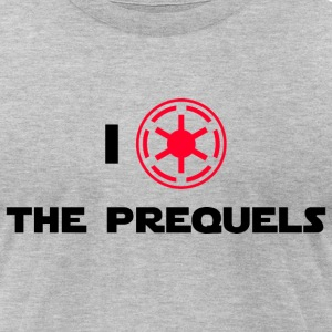I Heart The Prequels - Men's T-Shirt by American Apparel