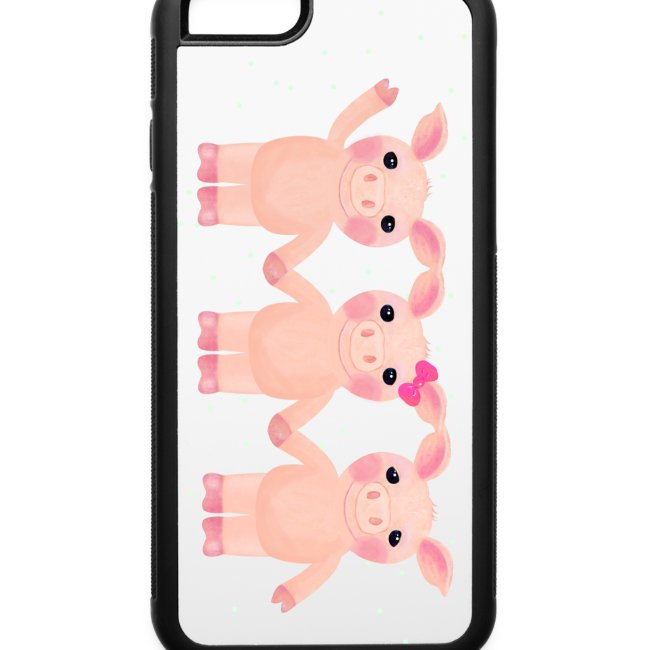 iPhone 6 Three Pigs Phone Case