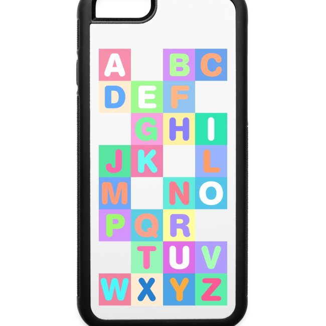 iPhone 6 Alphabet Phone Case