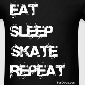 Eat Sleep Skate Repeat T-shirt - Men's T-Shirt