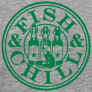 fish & chill (1c) T-Shirts - Men's Premium T-Shirt