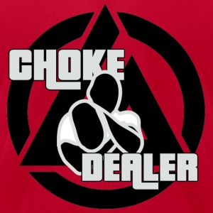 Choke Dealer (Black) T-Shirts - Men's T-Shirt by American Apparel