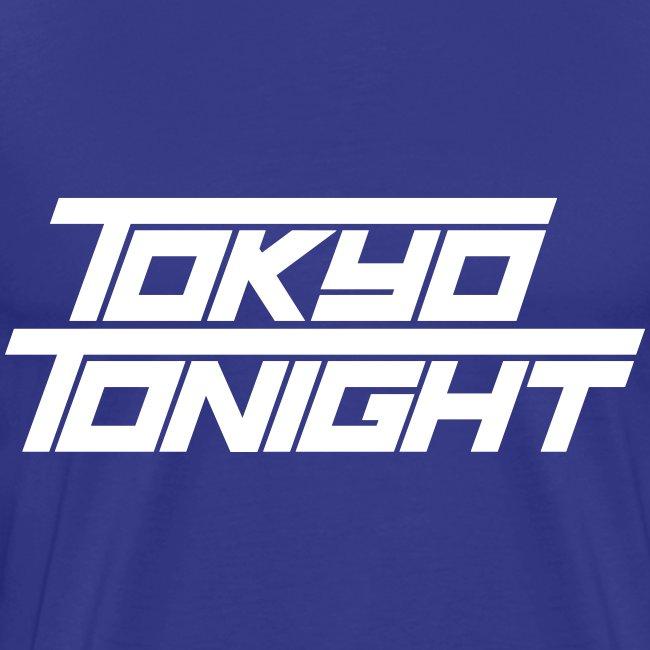 X5 Size - Tokyo Tonight Men's T-shirt (light font)
