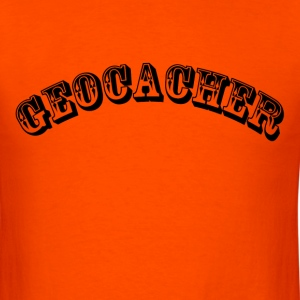 Geocacher - Men's T-Shirt