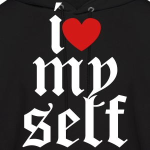 I LOVE MY SELF Hoodies - Men's Hoodie
