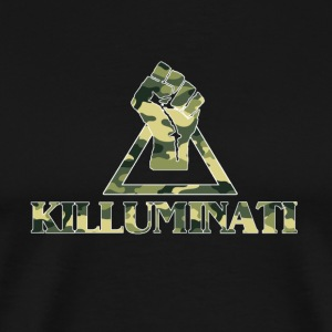 KILLUMINATI - CAMOUFLAGE  - Men's Premium T-Shirt