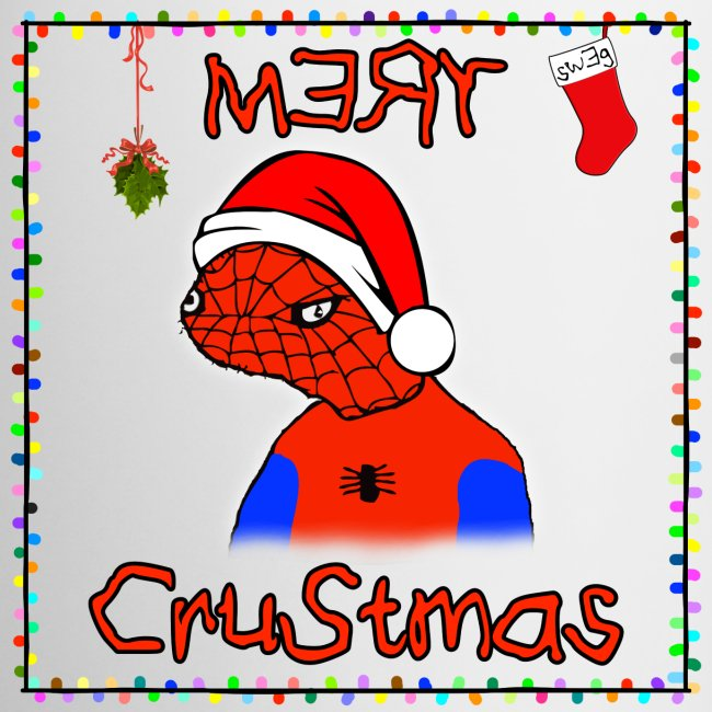 Mery Crustmas (RED TEXT)