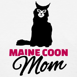 Maine coon Mom Women's T-Shirts - Women's T-Shirt