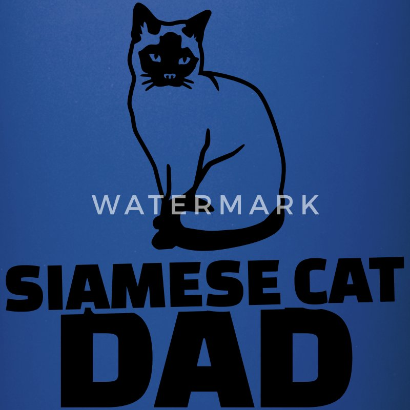 Siamese cat Dad Accessories - Full Color Mug