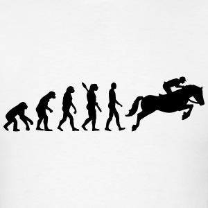 Evolution Show jumping T-Shirts - Men's T-Shirt