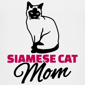 Siamese cat Mom Kids' Shirts - Kids' Premium T-Shirt