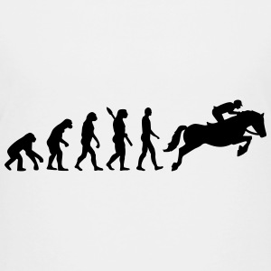 Evolution Show jumping Kids' Shirts - Kids' Premium T-Shirt