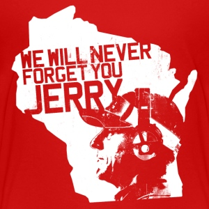 WE WILL NEVER FORGET YOU JERRY Kids' Shirts - Kids' Premium T-Shirt