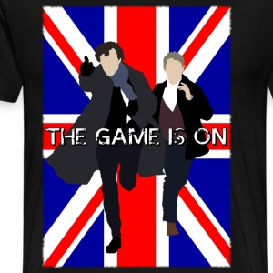Sherlock - The Game is On T-Shirts - Men's Premium T-Shirt