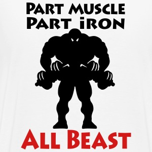 Muscle Iron Beast - Men's Premium T-Shirt