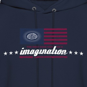 The only good nation is imagination Hoodies - Men's Hoodie
