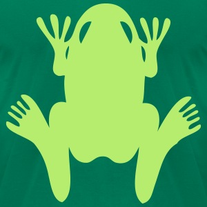 frog T-Shirts - Men's T-Shirt by American Apparel