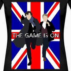 Sherlock - The Game is On Women's T-Shirts