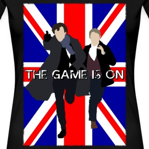 Sherlock - The Game is On Women's T-Shirts - Women's Premium T-Shirt