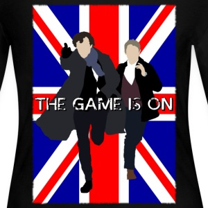 Sherlock - The Game is On Long Sleeve Shirts - Women's Long Sleeve Jersey T-Shirt