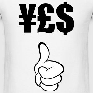 Thumbs Up (Yes) - Men's T-Shirt