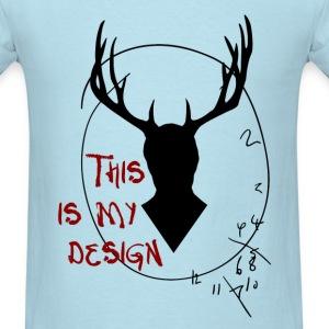 Hannibal - This is my design - Men's T-Shirt