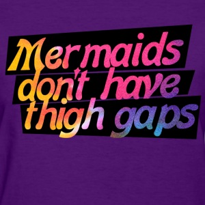 Mermaid humor - Women's T-Shirt