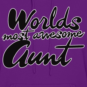 awesome aunt - Women's Hoodie