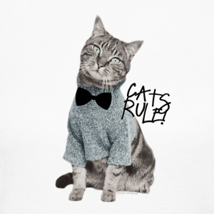Cats Rule Long Sleeve Shirt - Women's Long Sleeve Jersey T-Shirt