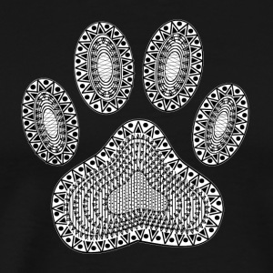 Ink Paw Print - Men's Premium T-Shirt