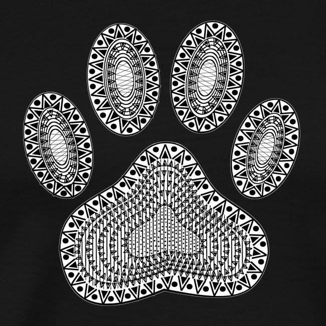 Ink Dog Paw Print