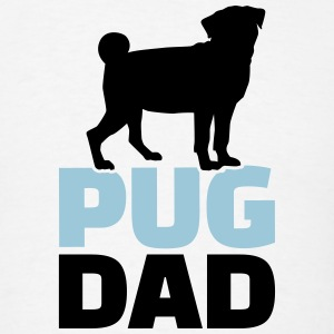 Pug Dad T-Shirts - Men's T-Shirt