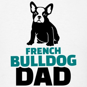 French Bulldog Dad T-Shirts - Men's T-Shirt
