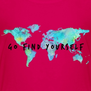 Go Find Yourself - Travel The World! Kids' Shirts - Kids' Premium T-Shirt