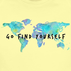 Go Find Yourself - Travel The World! Baby & Toddler Shirts - Short Sleeve Baby Bodysuit