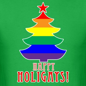 Happy Holigays - MENS tshirt - Men's T-Shirt