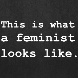 This is what a feminist looks like. Bags & backpacks - Tote Bag