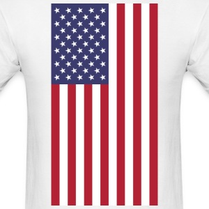 USA flag T-Shirts - Men's T-Shirt