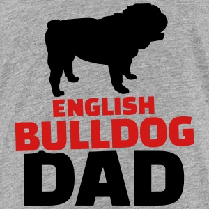 English Bulldog Dad Kids' Shirts - Kids' Premium T-Shirt
