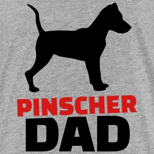 Pinscher Dad Kids' Shirts - Kids' Premium T-Shirt