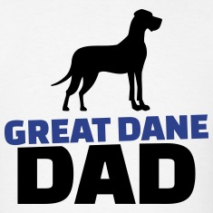 Great Dane Dad T-Shirts