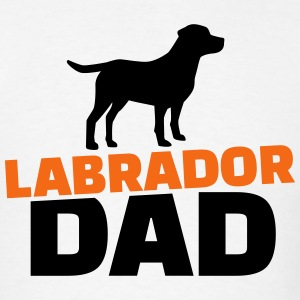 Labrador Dad T-Shirts - Men's T-Shirt