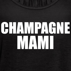 Champagne Mami Tanks - Women's Flowy Tank Top by Bella